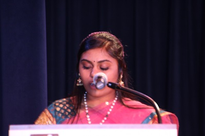Divya is the Emcee