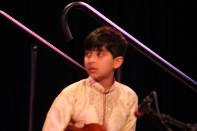 Adi on the violin
